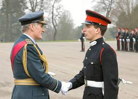 British Officer Training Program