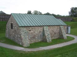 Powder Magazine at Fort George